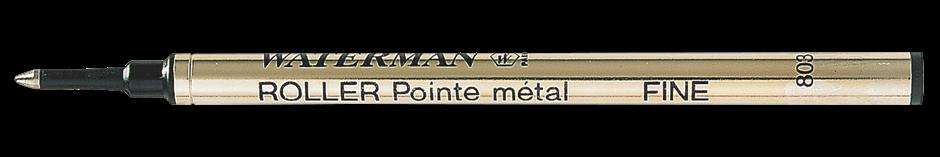 1964019, S0112670 Waterman Комплектующие Стержень для ручки-роллера  F, цвет: черный