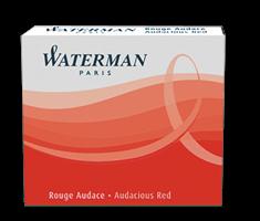 S0110970 Waterman Комплектующие Чернила в картридже З/ч.  Ink cartridge Standard Red
