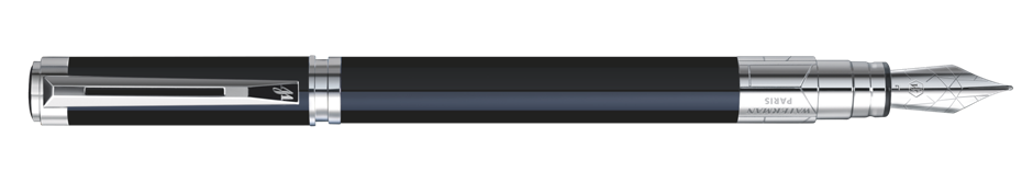 S0830660 Waterman Perspective Перьевая ручка, цвет: Black CT, перо: F