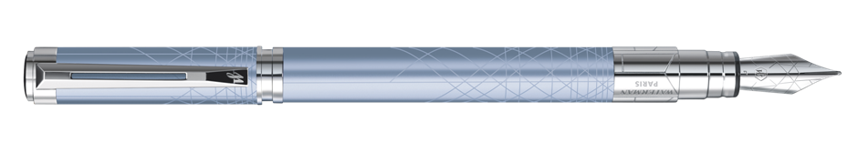 S0831080 Waterman Perspective Перьевая ручка, цвет: Azure CT, перо: F