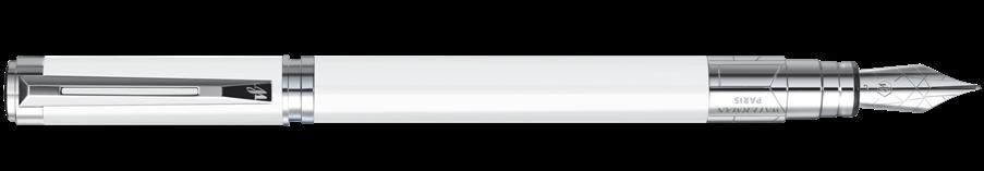 S0944560 Waterman Perspective *Перьевая ручка, цвет: White CT, перо: F