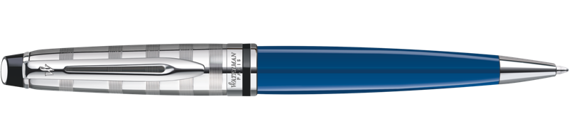1904593 Waterman Expert Шариковая ручка  Deluxe, цвет: Blue CT Obssesion