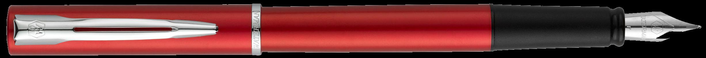 2068194 Waterman Graduate Перьевая ручка   ALLURE, цвет: красный, перо: F