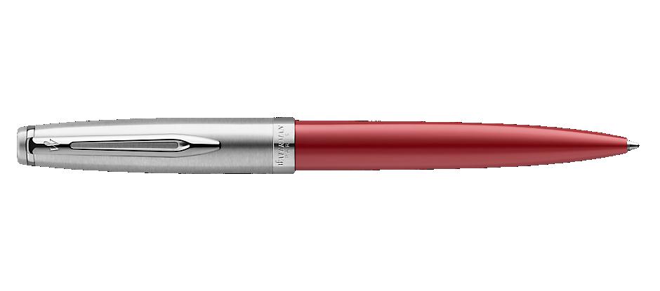 2100326 Waterman Embleme Шариковая ручка, цвет: RED CT, стержень: Mblue