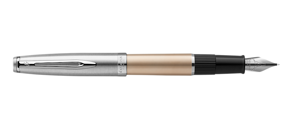 2103036 Waterman Embleme Перьевая ручка    цвет GOLD CT, цвет чернил: черный