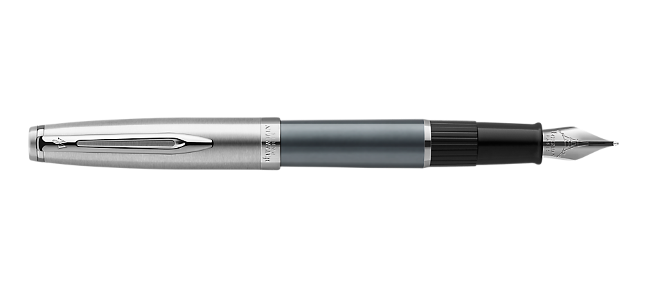 2103040 Waterman Embleme Перьевая ручка    цвет GREY CT, цвет чернил: черный
