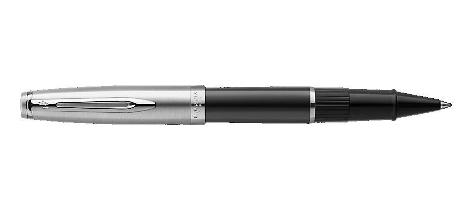2100378 Waterman Embleme Ручка роллер    цвет BLACK CT, цвет чернил: черный