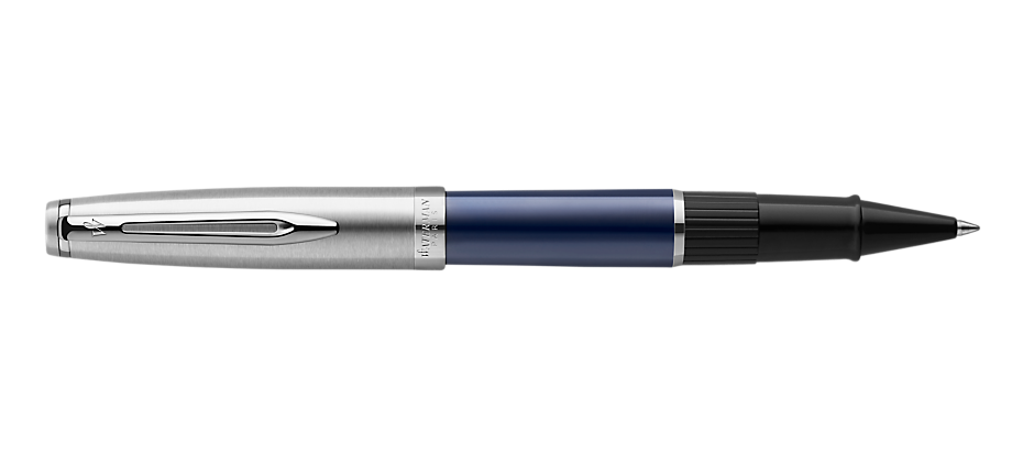 2100402 Waterman Embleme Ручка роллер    цвет BLUE CT, цвет чернил: черный