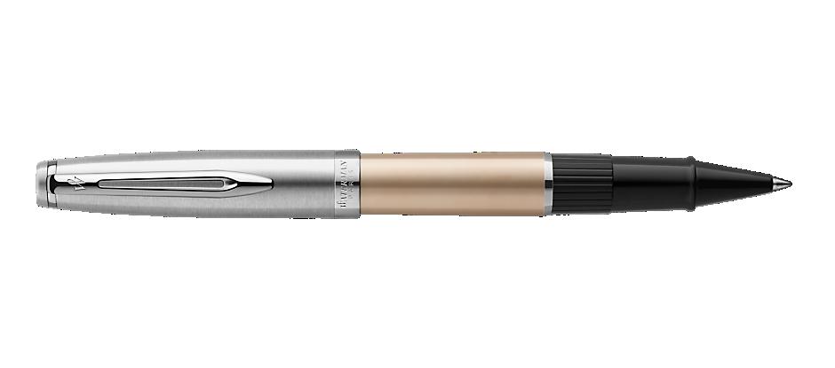 2103037 Waterman Embleme Ручка роллер    цвет GOLD CT, цвет чернил: черный