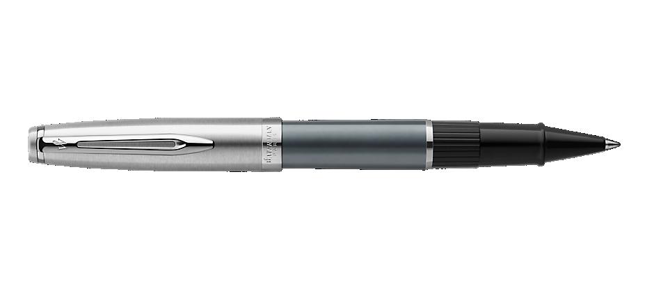 2103041 Waterman Embleme Ручка роллер    цвет GREY CT, цвет чернил: черный