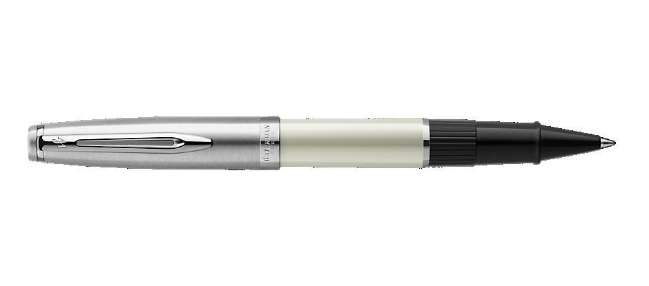 2100329 Waterman Embleme Ручка роллер    цвет IVORY CT, цвет чернил: черный