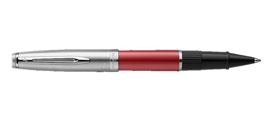 2100325 Waterman Embleme Ручка роллер    цвет RED CT, цвет чернил: черный