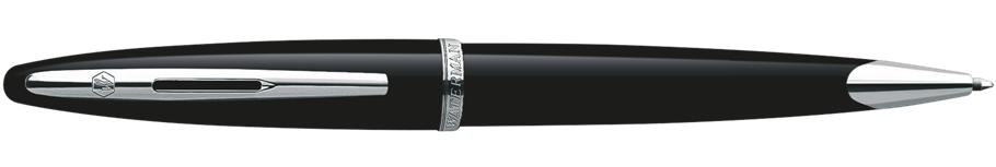 S0293950 Waterman Carene Шариковая ручка, цвет: Black ST, стержень: Mblu