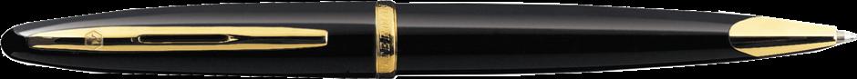 S0700380 Waterman Carene Шариковая ручка, цвет: Black GT, стержень: Mblue