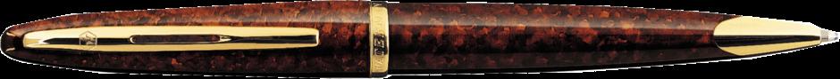 S0700950, S0700940 Waterman Carene Шариковая ручка, цвет: Amber, стержень: Mblue
