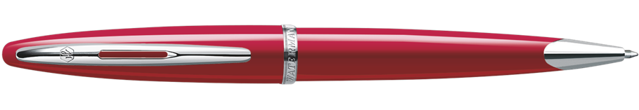 S0839620 Waterman Carene Шариковая ручка, цвет: Glossy Red Lacquer ST, стержень: Mblue