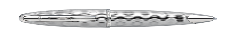 S0909890 Waterman Carene Шариковая ручка   Essential, цвет: Silver ST, стержень: Mblue