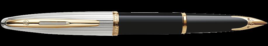 S0699930, S0699920, S0699940 Waterman Carene Перьевая ручка, цвет: Black/Silver, перо: F