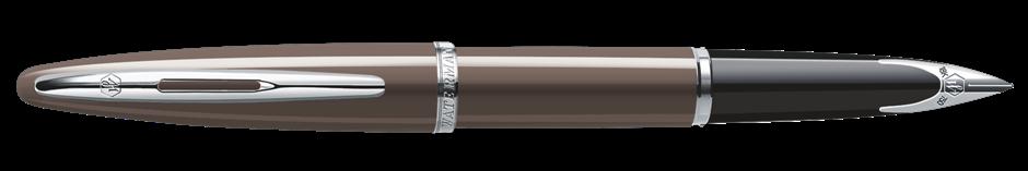 S0839700 Waterman Carene Перьевая ручка, цвет: Frosty Brown Lacquer ST, перо: F
