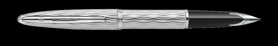 S0909830 Waterman Carene Перьевая ручка   Essential, цвет: Silver ST, перо: F