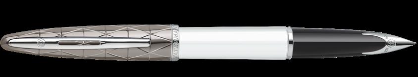 S0944640 Waterman Carene *Перьевая ручка, цвет: Contemporary white ST, перо: F