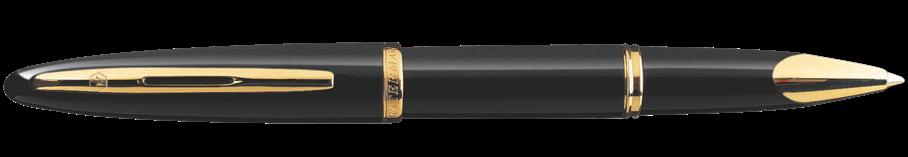 S0700360 Waterman Carene Ручка-роллер, цвет: Black GT, стержень: Fblk