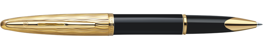 S0909790 Waterman Carene Ручка-роллер   Essential, цвет: Black GT, стержень: Fblack