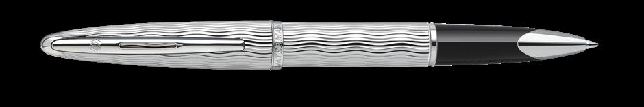 S0909870 Waterman Carene Ручка-роллер   Essential, цвет: Silver ST, стержень: Fblack