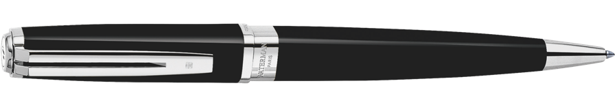 S0637040 Waterman Exception Шариковая ручка, цвет: Slim Black ST, стержень: Mblue