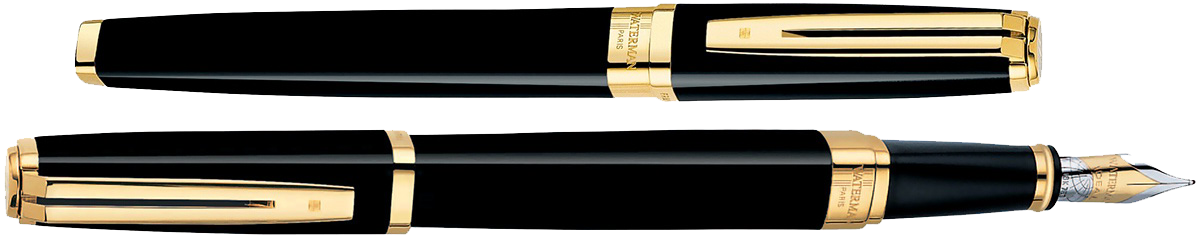 S0636790 Waterman Exception Перьевая ручка, цвет: Ideal Black/GT