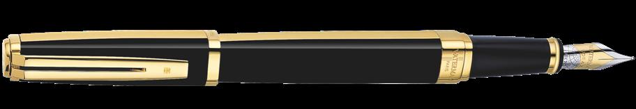 S0636870, S0636880, S0636890 Waterman Exception Перьевая ручка, цвет: Night&Day Gold GT
