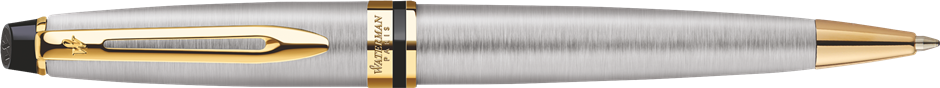 S0952000 Waterman Expert Шариковая ручка   3, цвет: Stainless Steel GT, стержень: Mblue