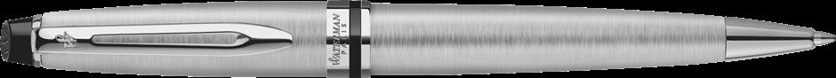 S0952100 Waterman Expert Шариковая ручка   3, цвет: Stainless Steel CT, стержень: Mblue