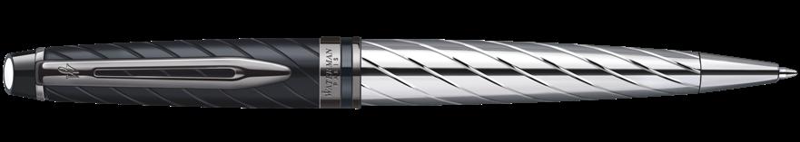S0963360 Waterman Expert Шариковая ручка   3 Precious CT, цвет: Black, стержень: Mblu