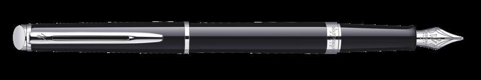 S0920510, S0701960 Waterman Hemisphere Перьевая ручка, цвет: Mars Black/CT, перо: F