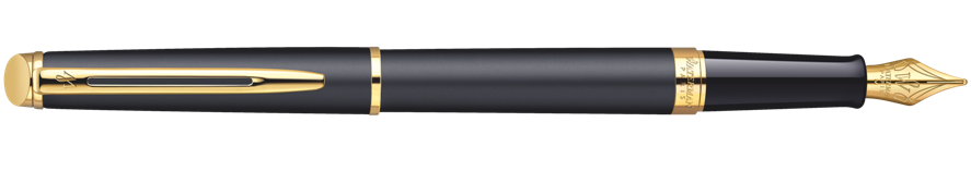 S0920710, S0702020, S0702030 Waterman Hemisphere Перьевая ручка, цвет: MattBlack, перо: F