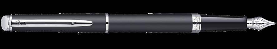 S0920810 Waterman Hemisphere Перьевая ручка, цвет: MattBlack CT, перо: F