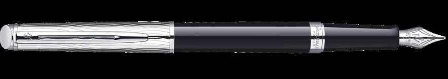 S0921090 Waterman Hemisphere *Перьевая ручка   Deluxe, цвет: Black CT, перо: F