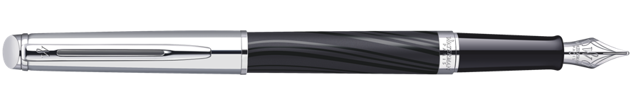 S0921170 Waterman Hemisphere Перьевая ручка   Deluxe, цвет: Silky CT, перо: F