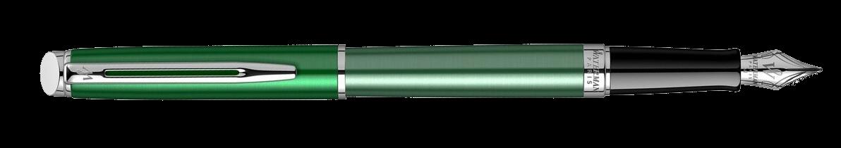2118281 Waterman Hemisphere Ручка перьевая   French riviera CHATEAU VERT в подарочной коробке