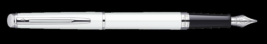 S0920910 Waterman Hemisphere Перьевая ручка, цвет: White CT, перо: F